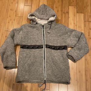 100% Wool Handmade in Nepal Jacket